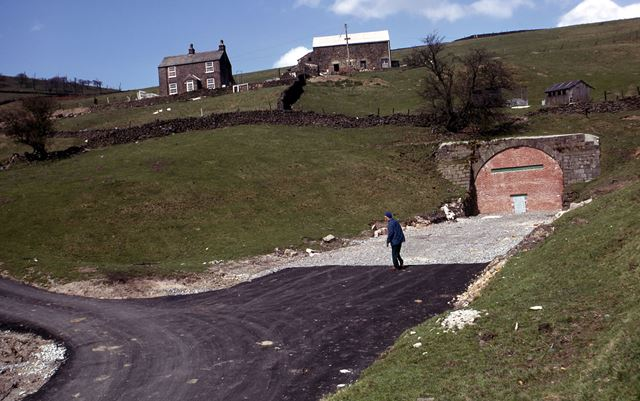 South End of Burbage Tunnel, CHPR, Goyt Valley, 1975