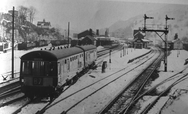 Millers Dale Railway Station, 1960s