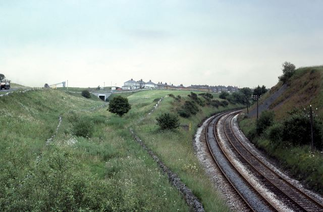 Manchester to Buxton Line Peak Forest Tramway, 1977