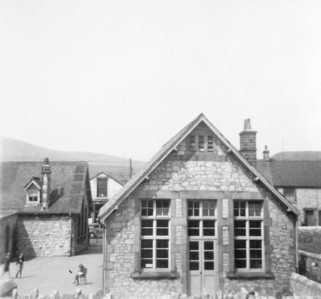 Church School and Vicarage, Dove Holes, 1956-58