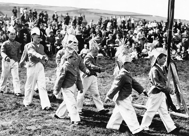 Village Carnival, Toy Soldiers on Parade, Dove Holes, 1956-58