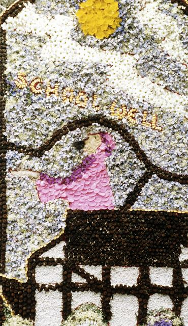Well Dressing, Ashford-in-the-Water, 1987