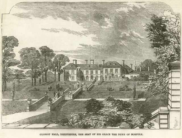 Glossop Hall, Manor Park Road, Glossop,  early 1800s?