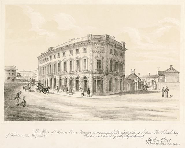 Winster Place, Spring Gardens, Buxton, c 1800?