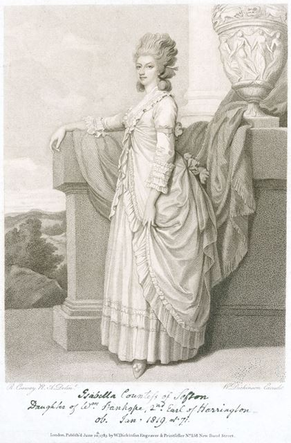 Isabella Stanhope, Countess of Sefton (1748-1819), c 1770s