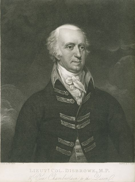 Lt-Col Edward Disbrowe M.P of Walton on Trent, c 1800s