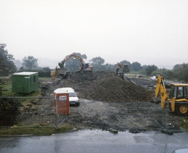 Building Work on Cooper Beeches, Heage Road, Ripley, 1998
