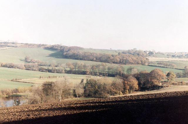 View across Moss Valley