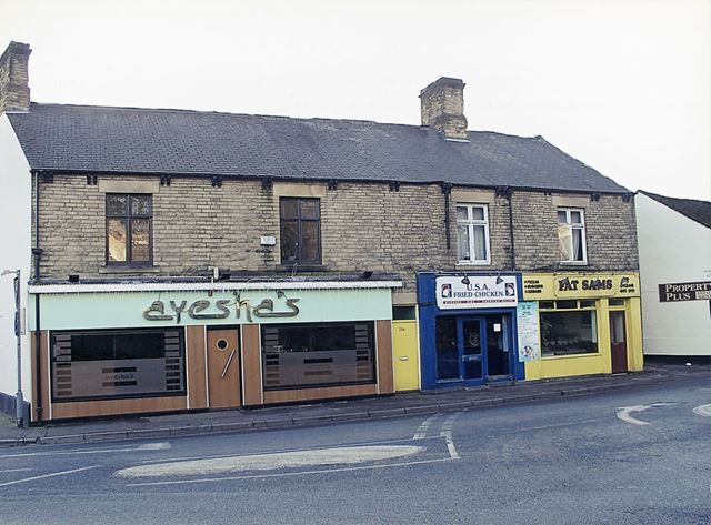 Junction of Chesterfield Road, Sheffield Road and Green Lane, Dronfield Bottom, Dronfield, 2007