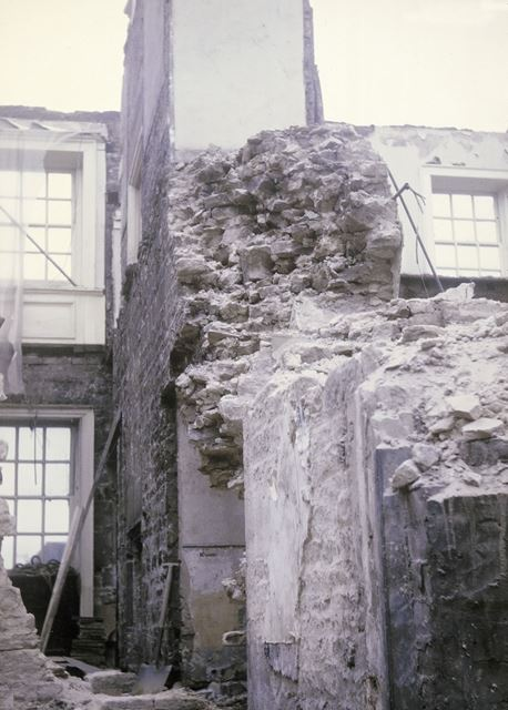 The Library refurbishment, The Manor House, High Street, Dronfield, 1968-1969