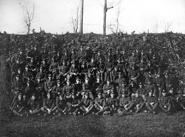 George Cowley Calow's Regiment in France during World War 1