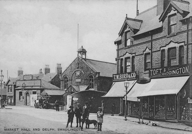 Market Hall and the Delph
