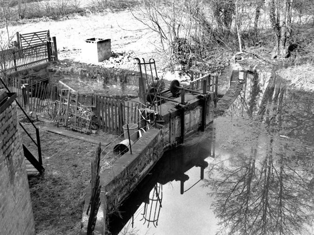 Alrewas Mill - Sluices and mill leat