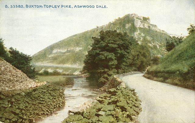 The River Wye at Topley Pike and Ashwood Dale, near Buxton
