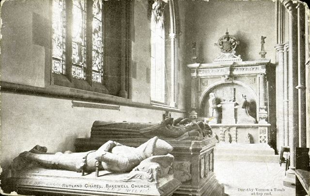 The Rutland Chapel and Dorothy Vernon's Tomb, All Saints Church, Bakewell