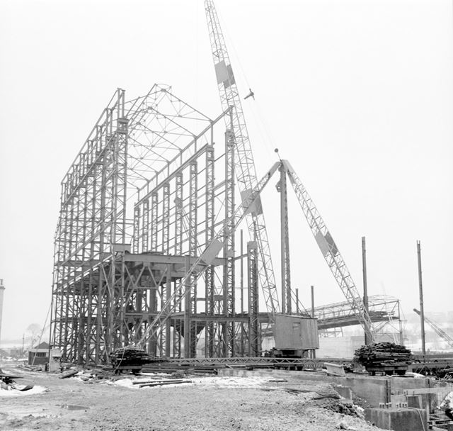 Construction of Ore Preparation Plant - crusher house