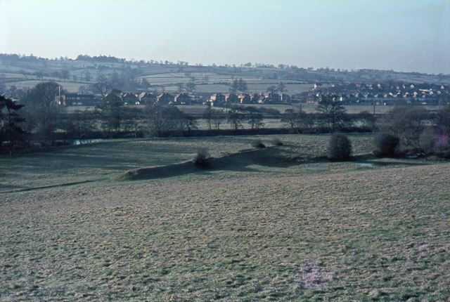 Duffield Dam, for Little Eaton Channel (canal or cut?), c 1970s
