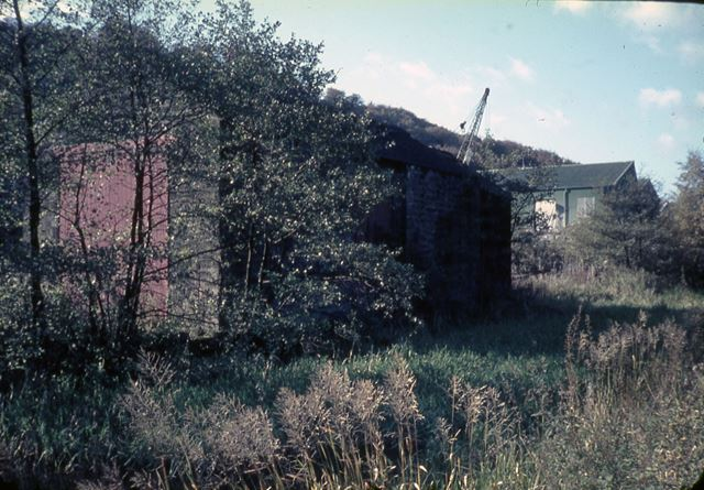 High Peak Junction, Cromford Canal, Cromford, 1967