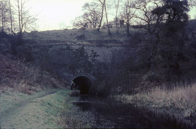 Gregory Tunnel 8, Cromford Canal, Buckland Hollow, Ambergate, 1967