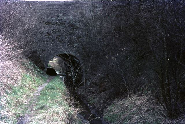 Gregory Tunnel, Cromford Canal, Buckland Hollow, 1967