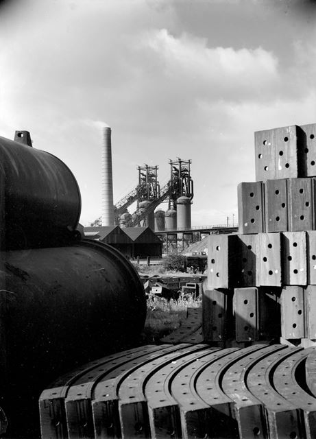 Old Works blast furnaces from the Nutbrook Foundry