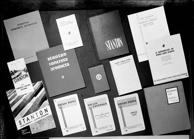 Stanton Ironworks Company promotional leaflets, brochures and catalogues - 1947-1949