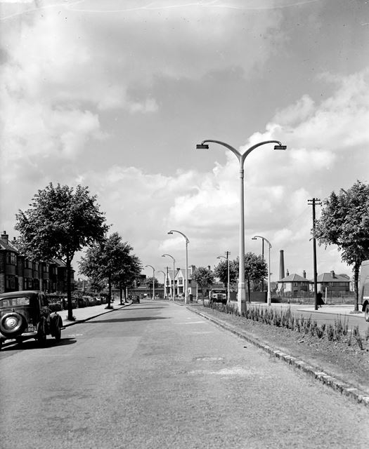 Looking West, Valley Road, Basford, Nottingham, c 1950s?