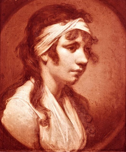 Portrait of Harriet, daughter of the artist - Joseph Wright of Derby