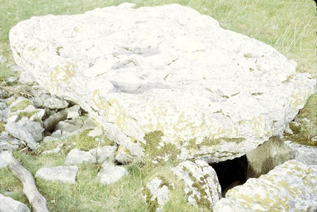 Minning Low Neolithic and Bronze age site, Capstone on Tomb A