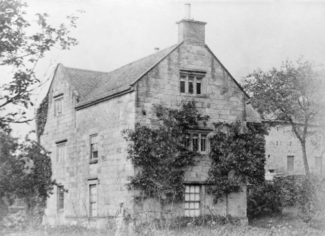 Makeney Old Hall before the alterations of 1893