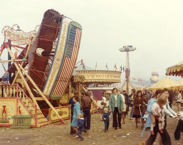 Goose Fair - Roundabouts and Steam-Boats