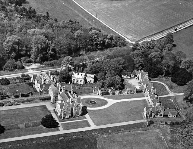 Annesley Hall, Annesley, 1973