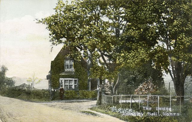 The Lodge at Annesley Hall, Annesley, c 1900