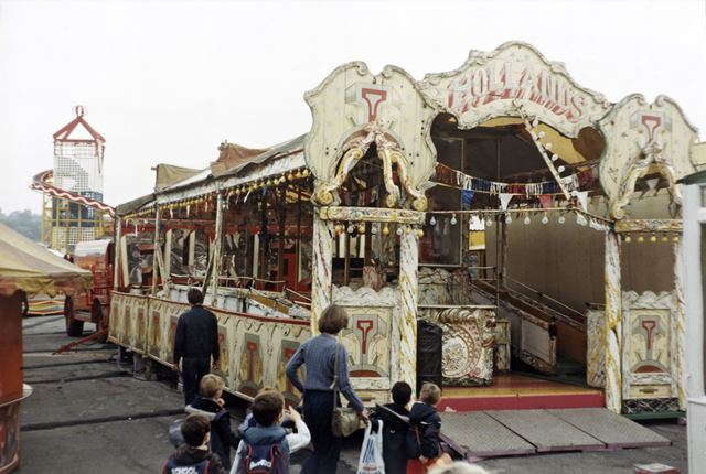 The Cake Walk, Goose Fair, Forest, Nottingham, 1983