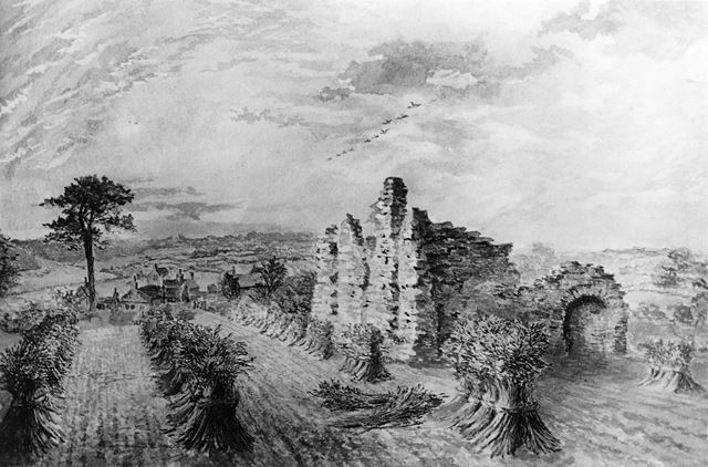 King John's Palace, off Mansfield Road, Old Clipstone, 1898
