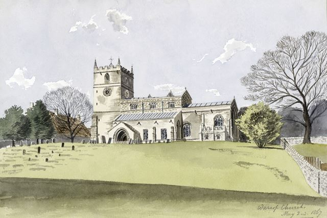 St Peter and St Paul's Church, Church Road, Warsop, 1867