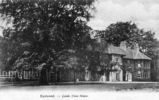 Lamb Close House, Moorgreen, c 1905
