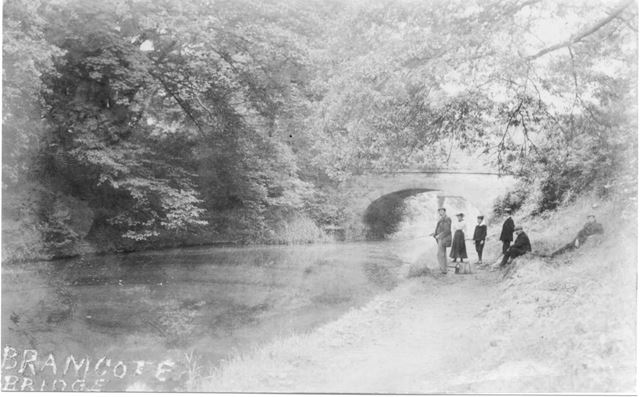 The Nottingham Canal, off Coventry Lane near Balloon Woods