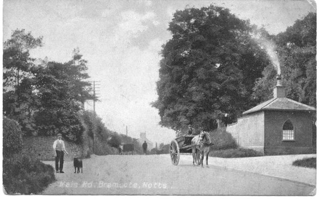 Lodge House for Bramcote Hills and Nottingham Road, Bramcote, c 1900s