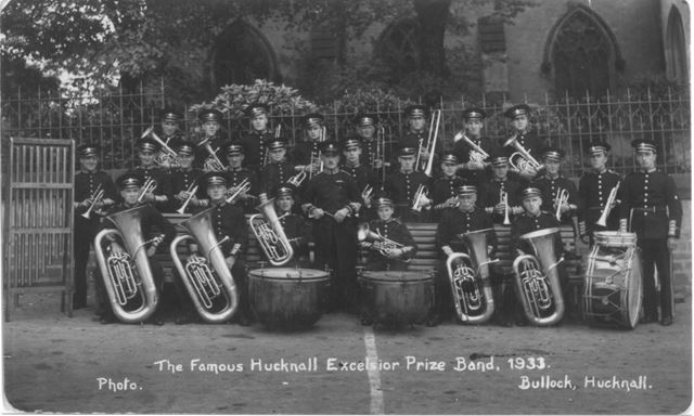 The Famous Hucknall Excelsior Prize Band