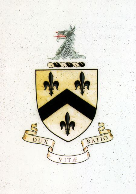 Arms and Crest of the Fanshawe Family, Dronfield, 1969-70