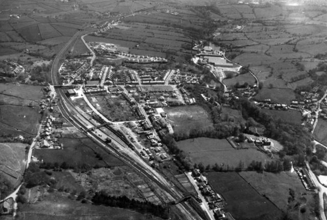 Aerial View, Chinley, c 1980