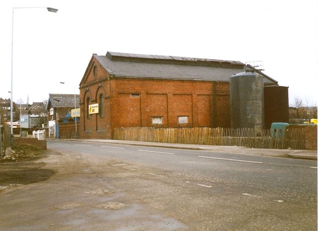 Old Gas Works Building, Station Road, Old Whittington, 1994