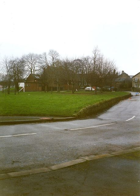 Village Green and Rear of Swanwick Memorial Hall, Old Whittington, 1995