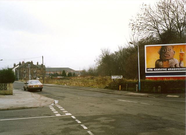 Junction of Holland Road and William Street North, Old Whittington, 1994