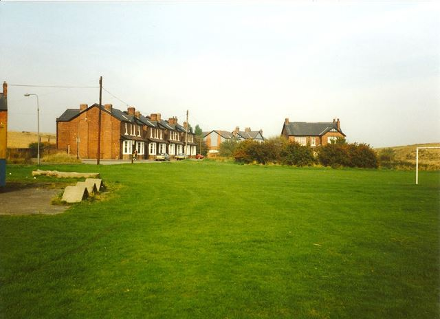 Football Field nr Devonshire Cottages and Villas (Now Demolished), Barrow Hill, 1994
