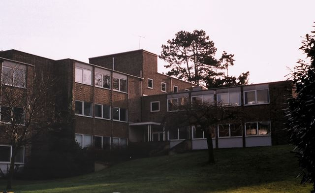 Former Buildings at Clifton Hall School Site, Clifton Hall Drive, Clifton, Nottingham, 2001