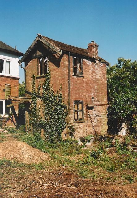 Rear View of an Old Derelict House, Radcliffe Road, West Bridgford, Nottingham, 2003