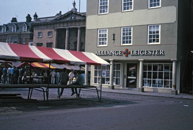 Alliance and Leicester Building Society, Market Place, Precinct, 1987