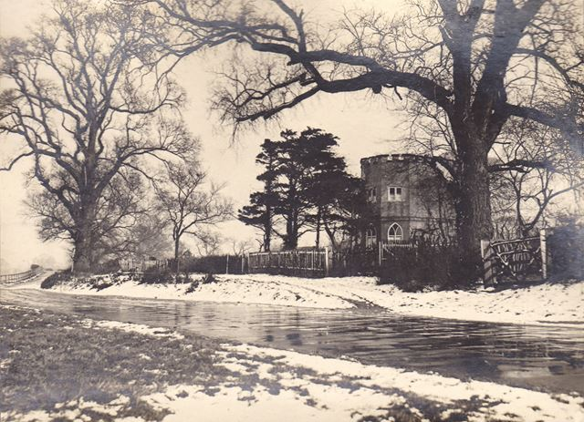The Round House, Clifton Lane,  Wilford, Nottingham, c 1920